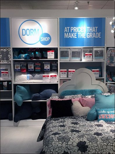 JC Penny Dorm Shop Display 2